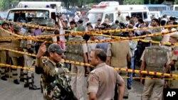 نئی دہلی: دھماکے میں کم ازکم گیارہ افراد ہلاک