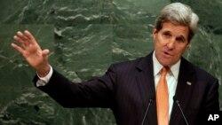 존 케리 미 국무장관은 지난달 27일 열린 핵확산금지조약 평가회의 개막연설에서 북한을 NPT 관련 규범을 무시하는 대표적인 나라로 지목했습니다.