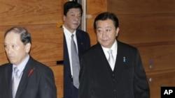 1일 각료 10명을 바꾸는 대폭적인 개각을 단행한 일본의 노다 요시히코 총리.