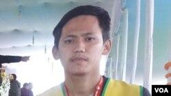 19歲藏人學生丹增曲英(藏青會網站圖片)