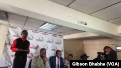MDC Press Conference Ahead of Friday, August 16 Demonstrations