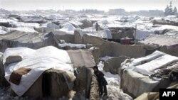 Лагерь беженцев в Афганистане