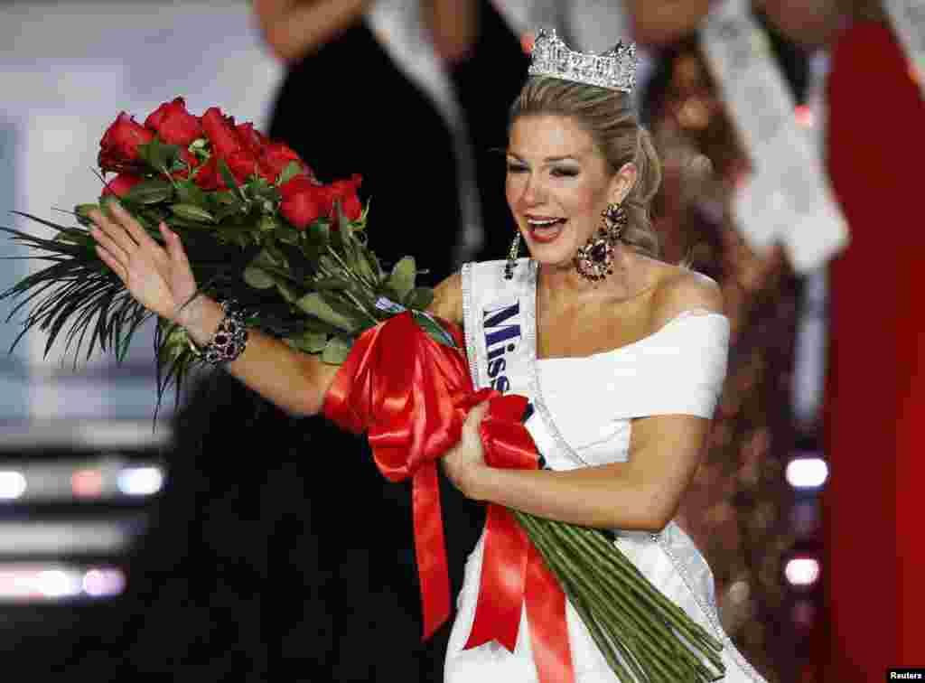 میلری ہیگن کا مس امریکہ منتخب ہونے کے بعدخوشی کا اظہار