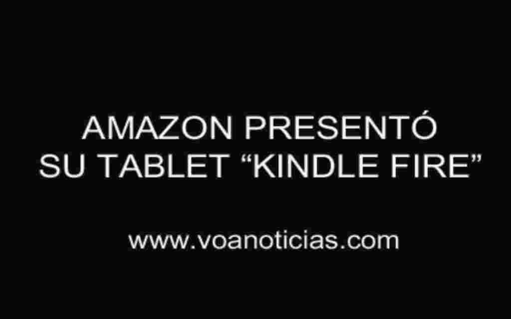 "El ""Kindle Fire"" de Amazon reta al iPad"