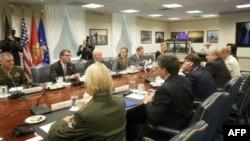 Американо-российская встреча в Пентагоне