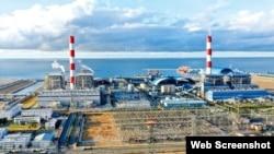 Nhà máy Nhiệt điện Vĩnh Tân 3 là dự án điện than lớn nhất nằm trong Trung tâm Điện lực Vĩnh Tân, tỉnh Bình Thuận. Ảnh: TTXVN via Lao Dong