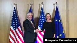 Bruksel, Rex Tillerson, Federica Mogherini