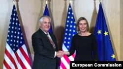Brussels, Rex Tillerson, Federica Mogherini