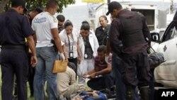 14 человек расстреляны на футбольном стадионе в Гондурасе