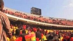 加納人民與外國元首出席米爾遜總統的葬禮