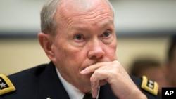 FILE - Joint Chiefs Chairman Gen. Martin Dempsey.