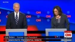 ဒီမိုကရက္စကားစစ္ထိုးပြဲ ဒုသမၼတေဟာင္း Biden ကို ထိုးႏွက္