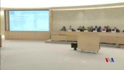 聯合國大使人權理事會譴責中國在新疆侵權行為