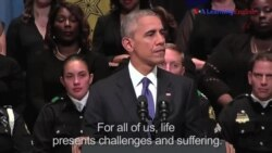 President Obama Calls for Unity at Dallas Memorial