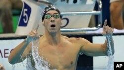 美国游泳名将菲尔普斯成为史上金牌最多奥运选手