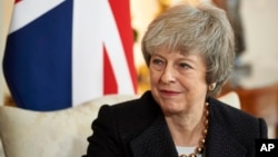 Премьер-министр Великобритании Тереза Мэй (архивное фото)