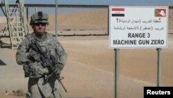 Kopral Ivan Lopez ketika bertugas di Irak (foto: dok).