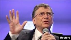 Ông Bill Gates, nhà sáng chế, doanh nhân và nhà từ thiện hàng đầu thế giới