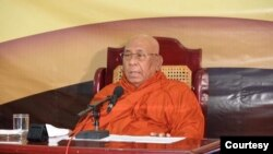 သီတဂူဆရာေတာ္ (ဓါတ္ပံု - Facebook-Sitagu/Thegon Sayadaw)
