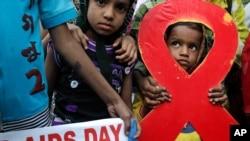 全球各地开展世界艾滋病日活动