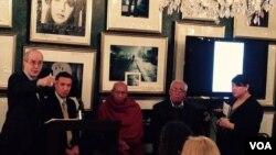 ၀ါရွင္တန္အေျခစိုက္ Justice Trust အဖဲြ႔ကႀကီးမွဳးက်င္းပတဲ့ ဆရာေတာ္ ဦးတိကၡဉာဏနဲ႔ ေရွ႕ေနႀကီးဦးေအာင္သိန္းတို႔ရဲ႕ ဝါရွင္တန္ဒီစီက ရွင္းလင္းပြဲ။ (မတ္ ၂၆၊ ၂၀၁၅)