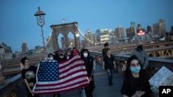 Protestuesit në Nju Jork