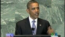 پرزيدنت اوباما در سازمان ملل در ارتباط با ايران و سوريه بر موضوع حقوق بشر تأکيد کرد
