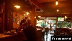 Prazni kafići u Podgorici (Foto: Predrag Milić)