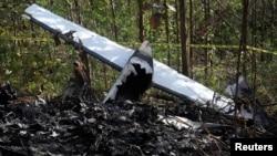 En conferencia de prensa, el director de Aviación Civil de Costa Rica, Enio Cubillo, dijo que el vuelo fletado de Nature Air se desplomó poco después de despegar de Punta Islita con rumbo a la capital, San José.