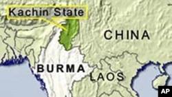 緬甸地圖(資料圖片)