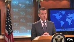 Juru bicara Departemen Luar Negeri AS Jeff Rathke.