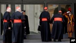 Para kardinal Katolik Roma akan memulai konklaf untuk memilih pengganti Paus Benediktus hari Selasa 12/3 di Vatikan (foto: dok).