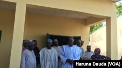 Daya daga cikin makarantun da aka sake ginawa a Maiduguri, Jihar Borno