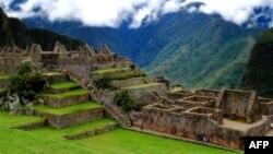 Kuil suci Machu Picchu di Peru. (Foto: AFP)