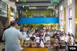 درشن کے تحت نوجوانوں کو کاروبار شروع کرنے کی ترغیب دینے کی تربیتی کلاس۔