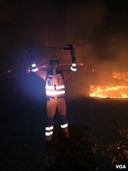 Ali Sarajlić, boy who fights fire