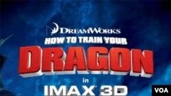 Film fiksi animasi baru 3-D How to Train Your Dragon menampilkan pejuang Viking, naga-naga terbang dan anak belasan tahun yang cerdik.