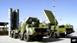 러시아의 S-300 지대공 미사일 포대. (자료사진)