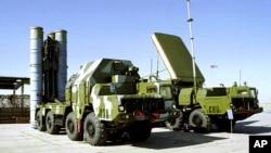 러시아의 S-300 대공미사일시스템. (자료사진)