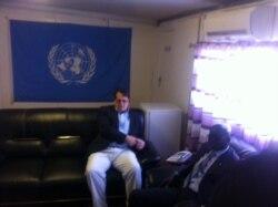 Point presse Monusco, à Lubumbashi, de notre correspondant Narval Mabila pour VOA Afrique