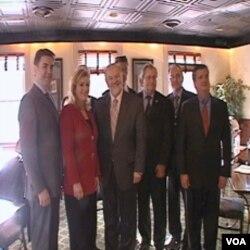 Predstavnici američke savezne države Maryland, Američko-balkanskog poslovnog saveza i nekih zemalja Zapadnog Balkana koji su učestvovali na pripremnom skupu u Annapolisu