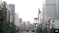 ٹوکیو میں پارک کی جگہ مارکیٹ کی تعمیر کے خلاف مظاہرہ