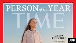 瑞典少女桑伯格獲評為2019年度美時代周刊風雲人物