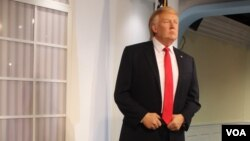 گزارش تصویری: روسای جمهوری آمریکا در موزه مادام توسو