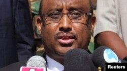 Le président de la région du Puntland Abdiweli Mohamed Ali à Garowe, le 14 janvier 2014.