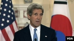 N Korea, 'Asia Pivot', Tops Kerry's Agenda. April 11, 2013.