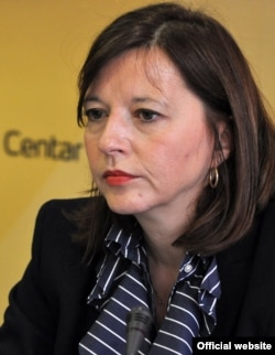 Arhiva - Nataša Vučković, poslanica Demokratske stranke (Foto: Medijacentar Beograd)