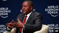 International news agency Reuters quotes Dankote as omitting Zimbabwe from the list of countries he plans to expand his vast empire.