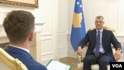Predsednik Kosova Hašim Tači