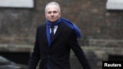 FILE PHOTO: David Lidington arrives at 10 Downing Street, London, Britain Jan. 8, 2018.
